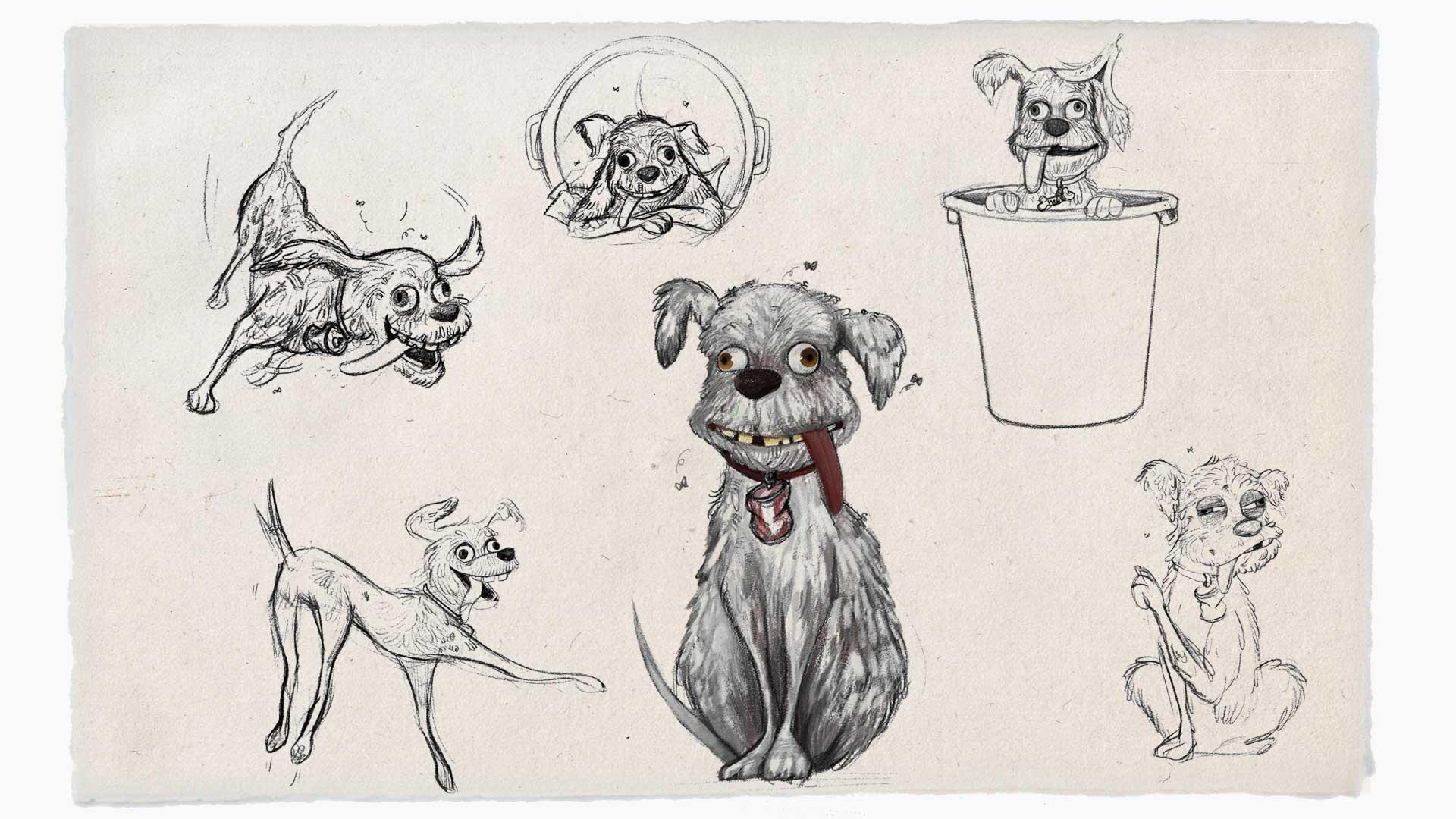 Street Dog concept art
